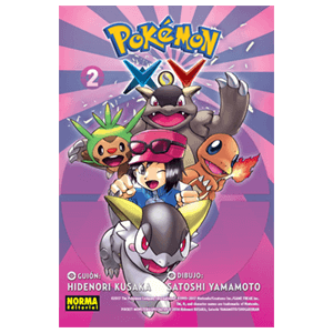 Pokémon X-Y nº 2