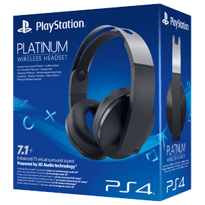 Auriculares SONY Wireless Headset Platinum