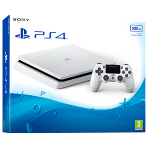 Playstation 4 Slim 500Gb Blanca