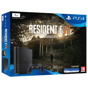 PlayStation 4 Slim 1Tb + Resident Evil 7