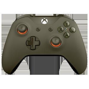 Controller Inalámbrico Microsoft Verde Militar
