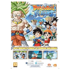 Poster Dragon Ball Fusions