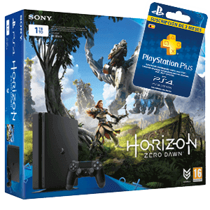 Playstation 4 Slim 1Tb + Horizon: Zero Dawn + 3 Meses PSN
