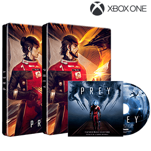 Prey Steelbook + Soundtrack Pack