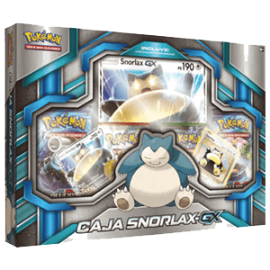 Caja Pokémon GX Snorlax