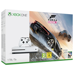 Xbox One S 1TB Forza Horizon 3