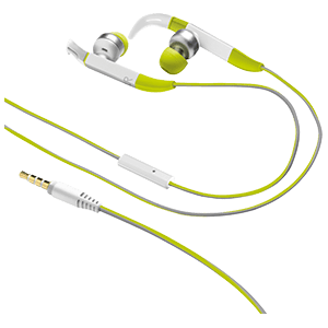 Auriculares deportivos verdes Trust