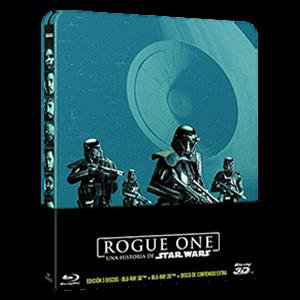 Rogue One: Una Historia de Star Wars 3D + 2D Steelbook