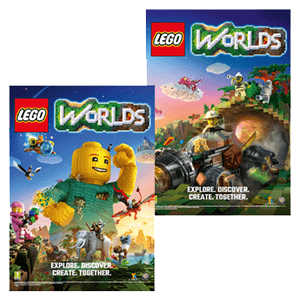 Poster LEGO Worlds