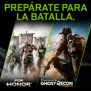 Regalo For Honor o Ghost Recon Wildlands PC