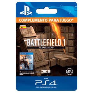 Battlefield 1 Battlepacks x 40 PS4
