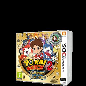 Yo-Kai Watch 2: Carnánimas + Medalla