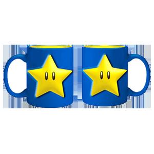 Taza Nintendo: Super Mario Star