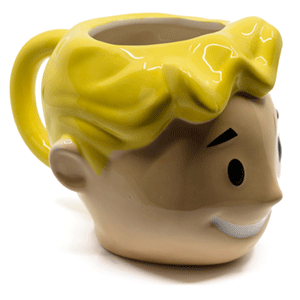 Taza Fallout Vault Boy Head