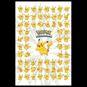 Póster Pokemon Pikachu