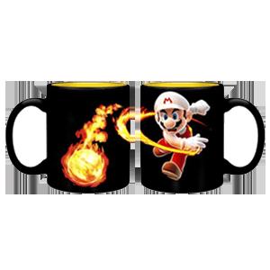 Taza Nintendo: Super Mario Fireball