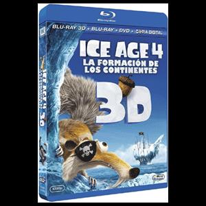 Ice Age 4: La Formacion De Los Continentes 3D + 2D