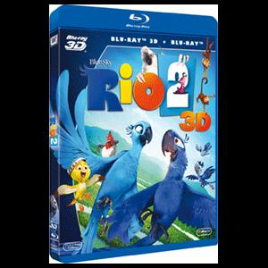 Rio 2 3D + 2D