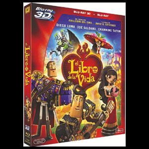 El Libro De La Vida 3D + 2D