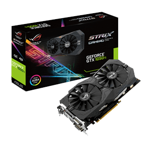 Asus GeForce GTX 1050Ti Strix OC 4GB
