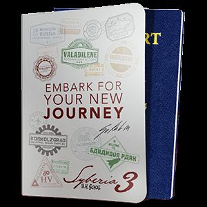 Syberia 3 - Funda pasaporte