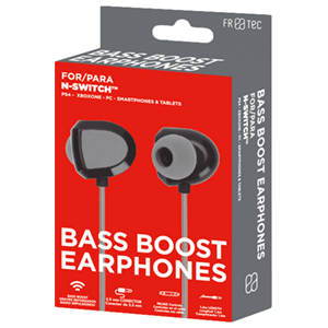 Auriculares FR-Tec Bass Boost parta Nintendo Switch