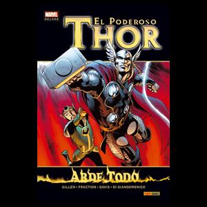 Marvel Deluxe. Thor: Todo Arde