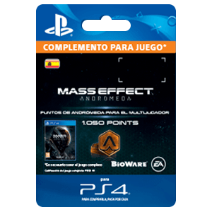 1050 Mass Effect Andromeda Points PS4