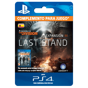 Tom Clancy's The Division - Hasta el Fin PS4