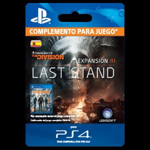 Tom Clancy's The Division - Hasta el Fin PS4