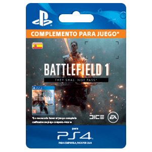 Battlefield 1 They Shall Not Pass PS4