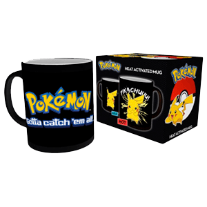 Taza Termosensible Pokemon: Pikachu