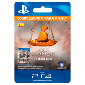 For Honor 11 000 Steel Credits Pack PS4
