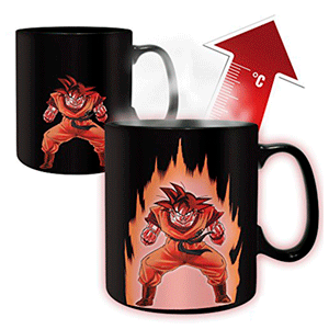 Taza Termosensible Dragon Ball - Goku