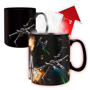 Taza Termosensible Star Wars - Space Battle