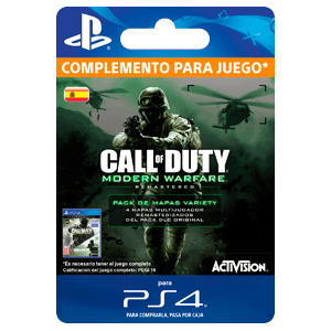 Call of Duty: Modern Warfare Variety Map Pack PS4