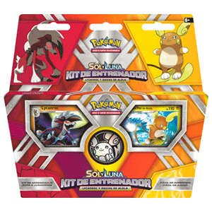 Pokemon TCG Trainer Kit Sol y Luna