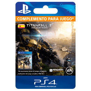 Titanfall 2: Colony Reborn Bundle PS4