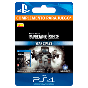 Tom Clancy's Rainbow Six Siege Year 2 Pass PS4