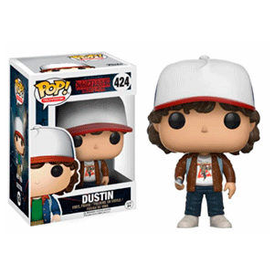 Figura Pop Stranger Things Dustin Ed. Limitada