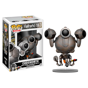 Figura Pop Fallout Codsworth Dañado