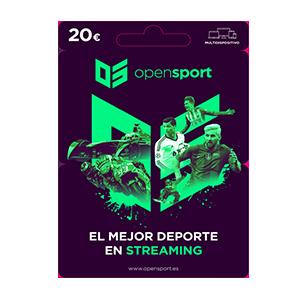 Pin Open Sport 20 Euros