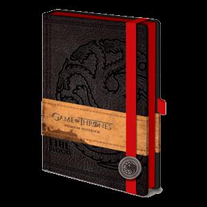 Libreta Premium Juego De Tronos Targaryen