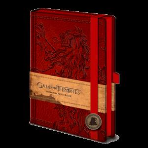 Libreta Premium Juego De Tronos Lannister
