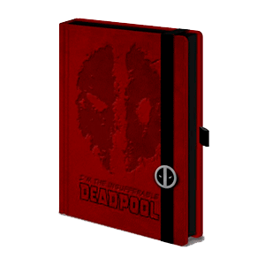 Libreta Premium Marvel Deadpool
