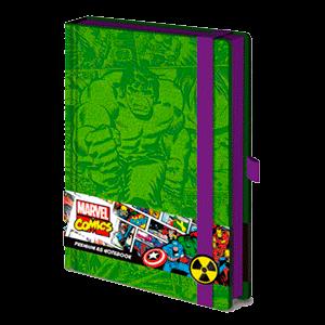 Libreta Premium Marvel Hulk