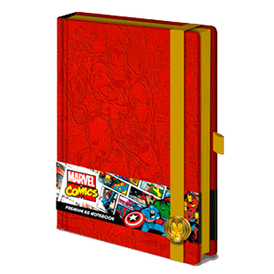 Libreta Premium Marvel Iron Man