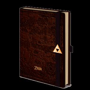 Libreta Premium Zelda Mapa