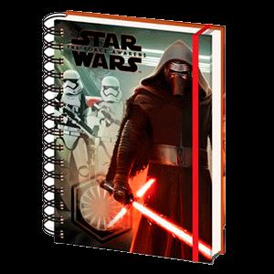 Libreta Espiral Star Wars EP7 Kylo Troopers