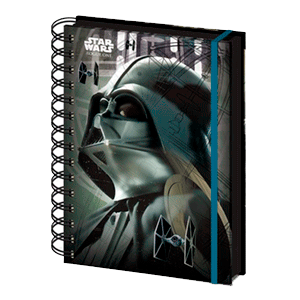 Libreta Espiral Star Wars Rogue One Vader
